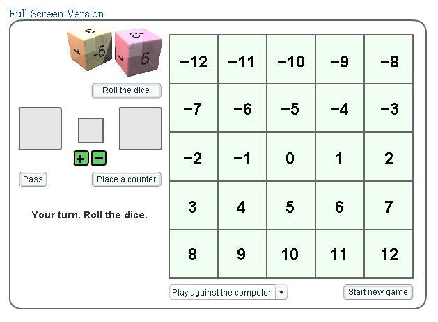 printable integer worksheets