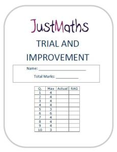 justmaths worksheets