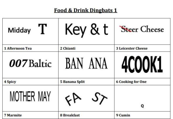 Ken's Dingbats | A free quiz resource (Excellent for classroom use ...