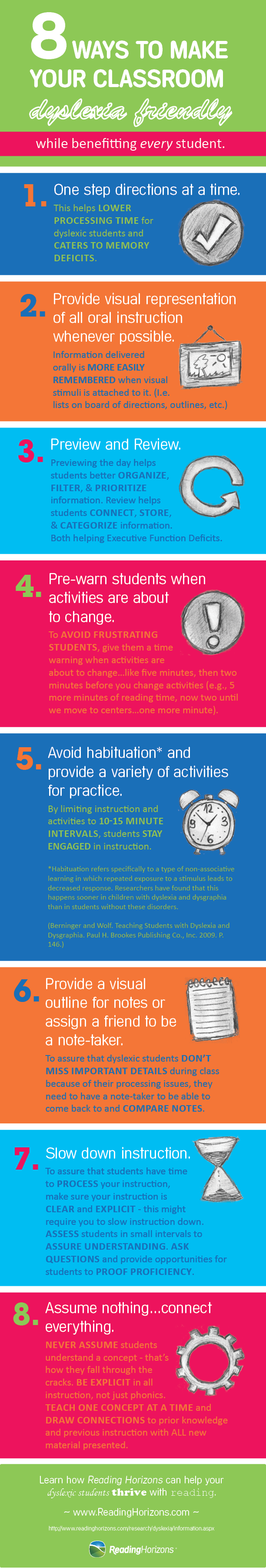 8 Ways to Make Your Classroom Dyslexia Friendly – Infographic | Mr ...