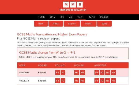 MathsMadeEasy